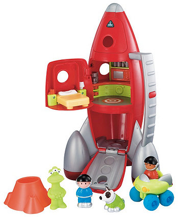 Happyland Lift Off Rocket