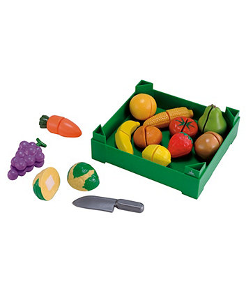 Crate of Cut-and-Play Fruit and Vegetables