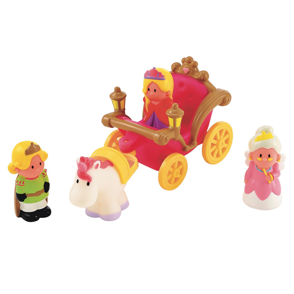 New ELC Boys and Girls Happyland Enchanted Carriage Set Toy From 18 months - Brands Gifts