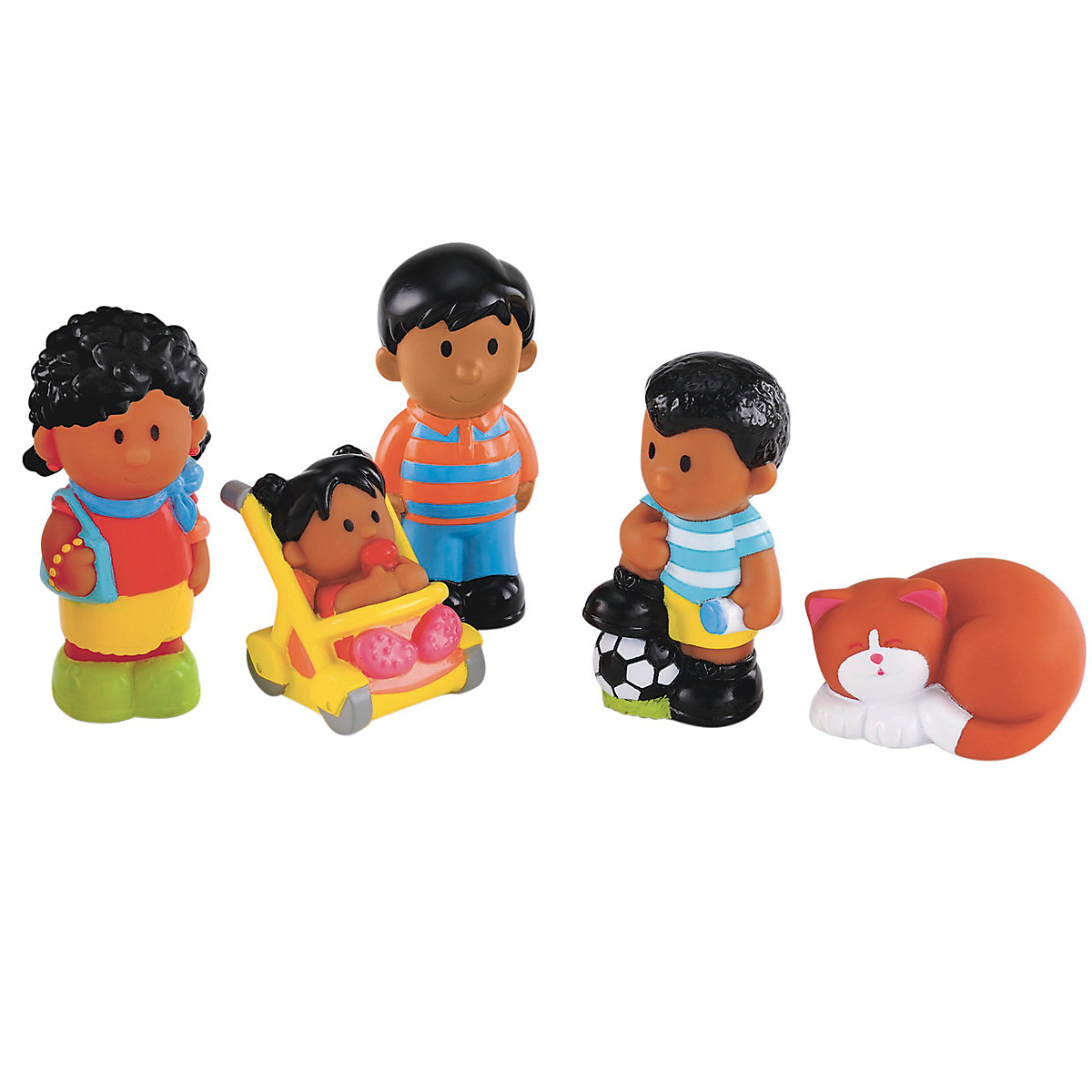 New ELC Boys and Girls Happyland Smiley Family Toy From 18 months - Smiley Gifts