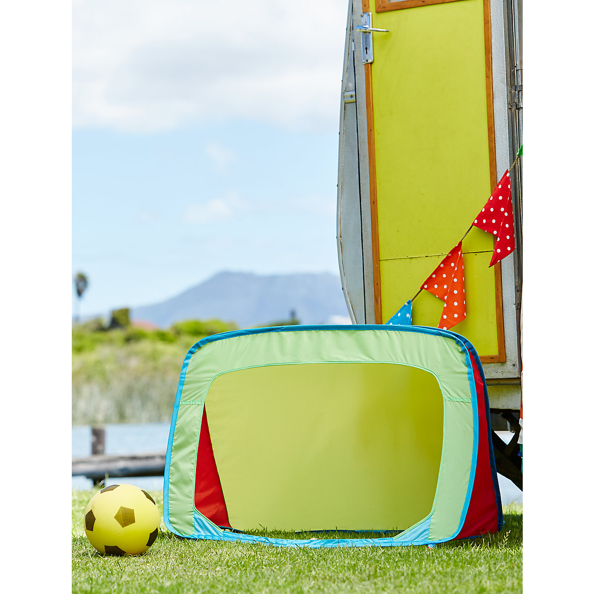 New ELC Boys and Girls Pop Up Football Goal Toy From 2 years - Early Learning Centre Gifts
