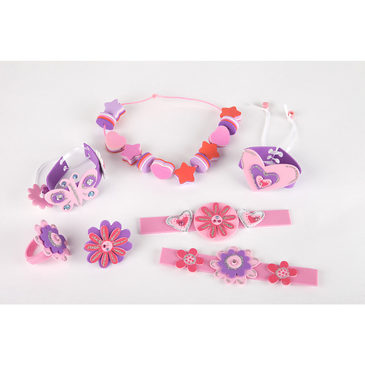 New ELC Girl Make Your Own Foam Jewellery Toy From 3 years