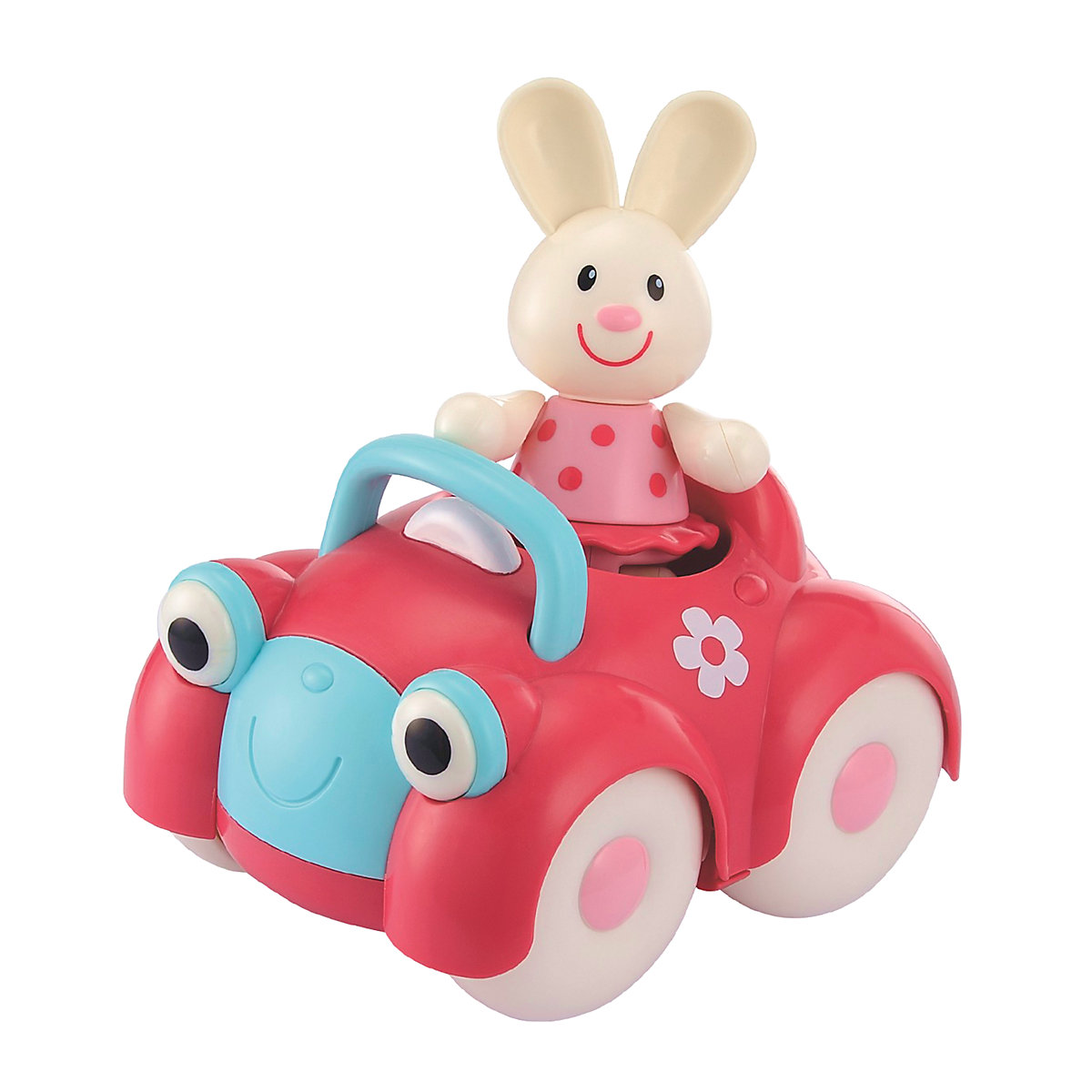 New ELC Boys and Girls Toybox Rosie Rabbit and her Motor Car Toy From 1 year - Toy Gifts