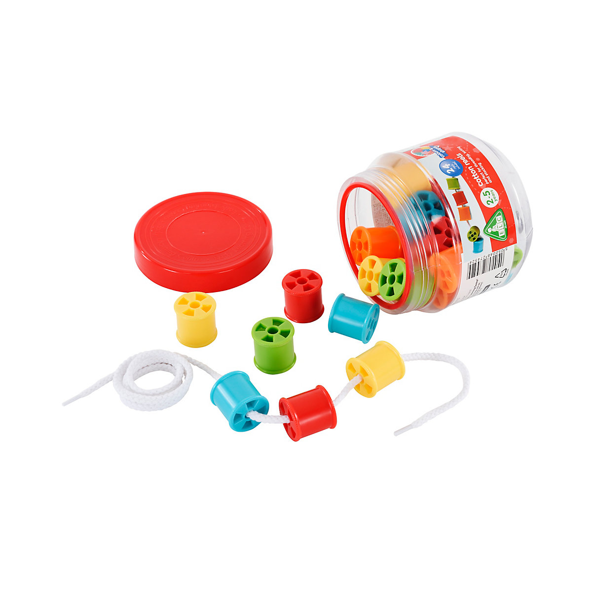 Cotton Reels Toy From 2 years