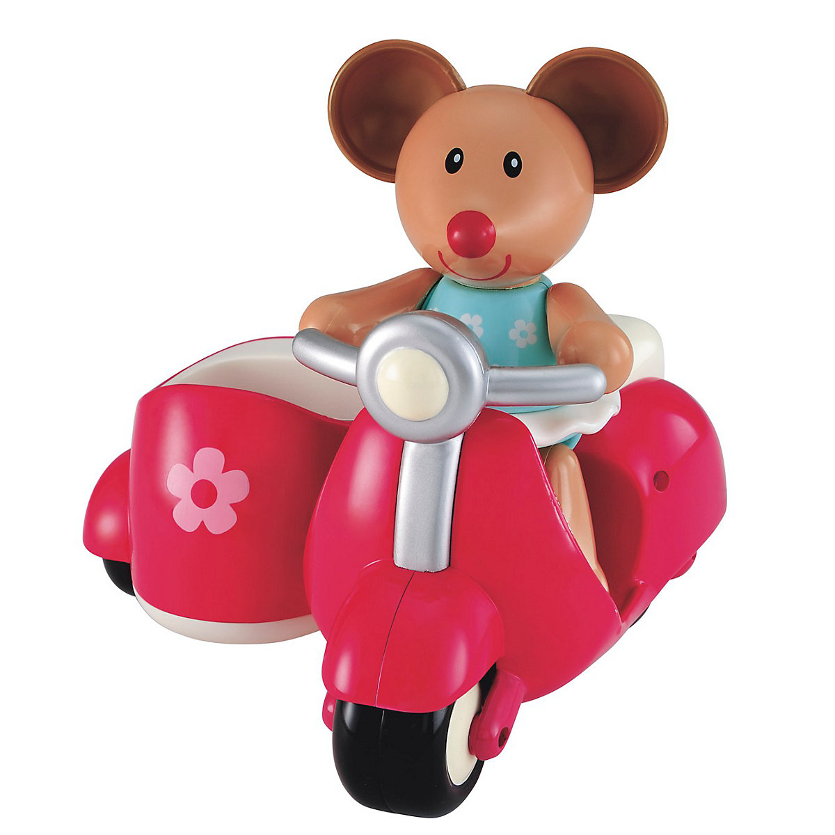 New ELC Boys and Girls Toybox Martha Mouse and her Scooter Toy From 1 year - Brands Gifts