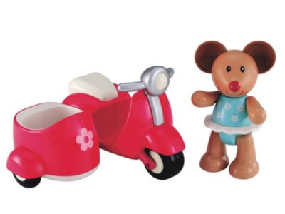 Toybox Martha Mouse and her Scooter