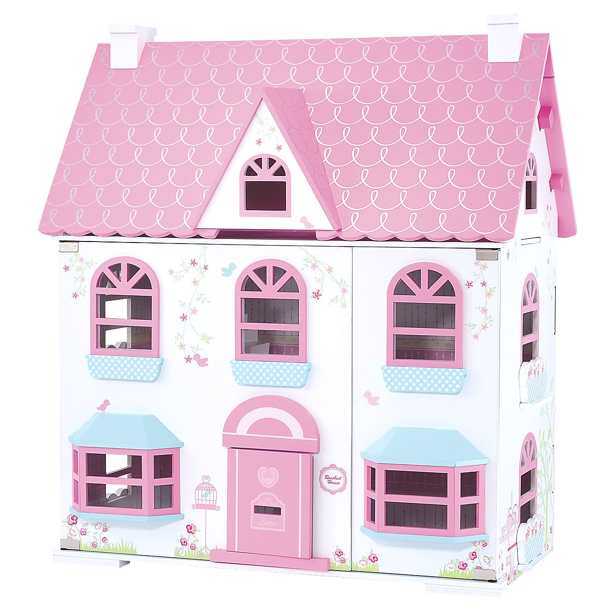 New ELC Girl Rosebud Country Doll's House Toy From 3 years - Brands Gifts