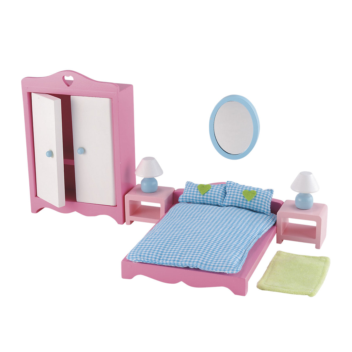 New ELC Girl Rosebud House Bedroom Set Toy From 3 years
