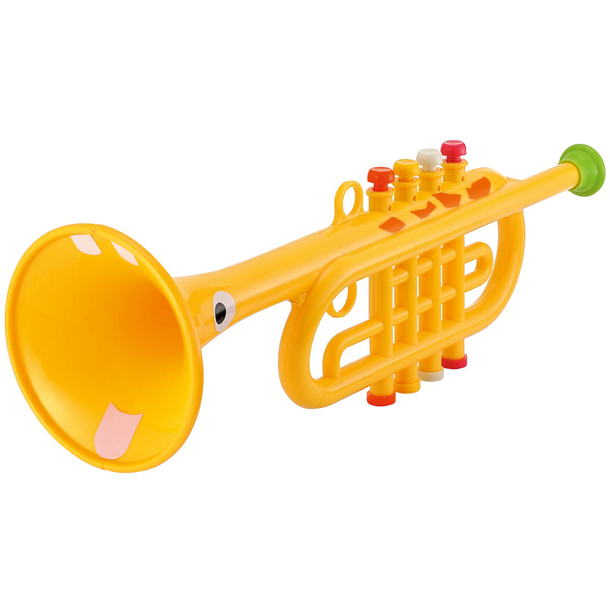 New ELC Boys and Girls Yellow Trumpet Toy From 3 years - Trumpet Gifts