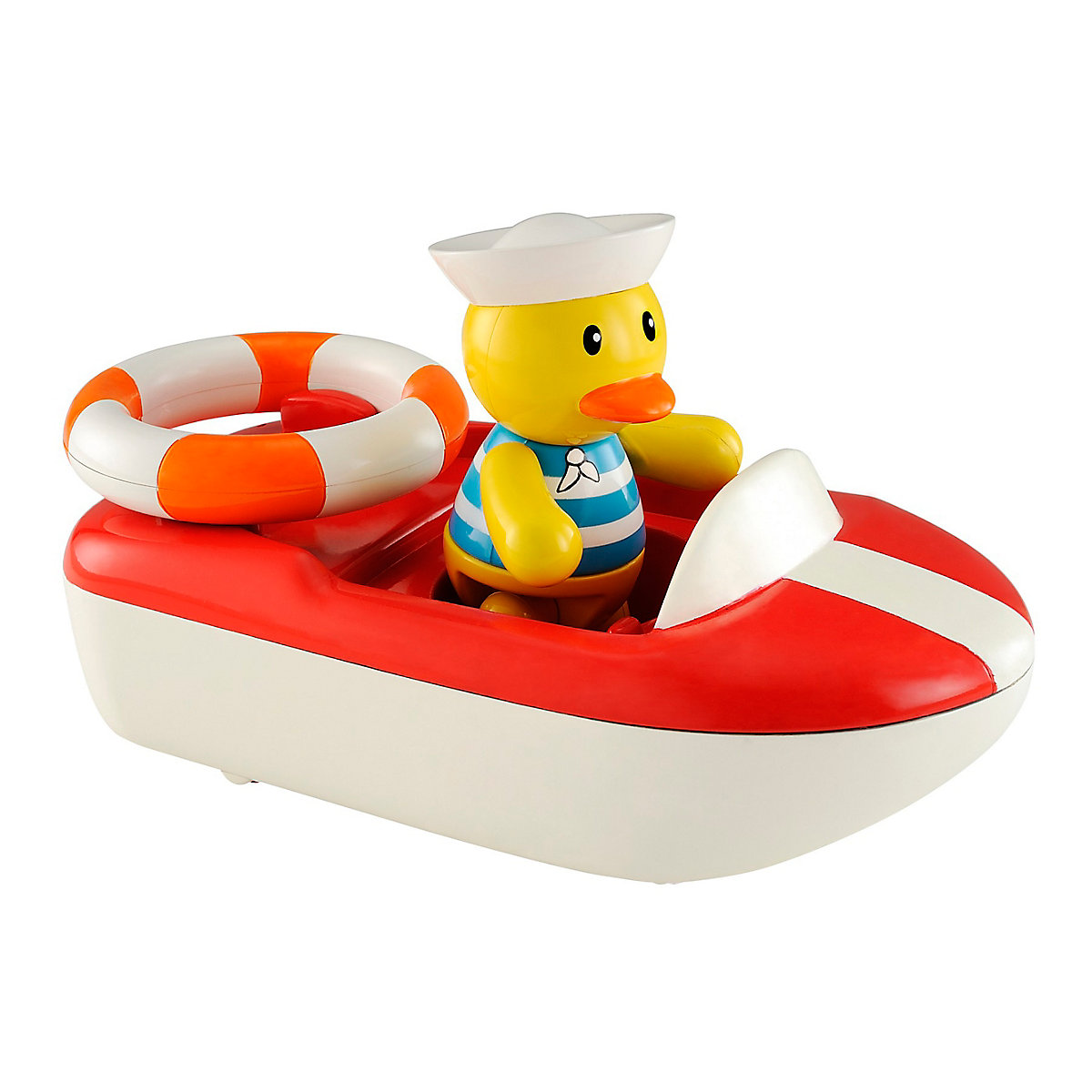 New ELC Boys and Girls Toybox Dylan Duck and his Speed Boat Toy From 12 months - Toy Gifts