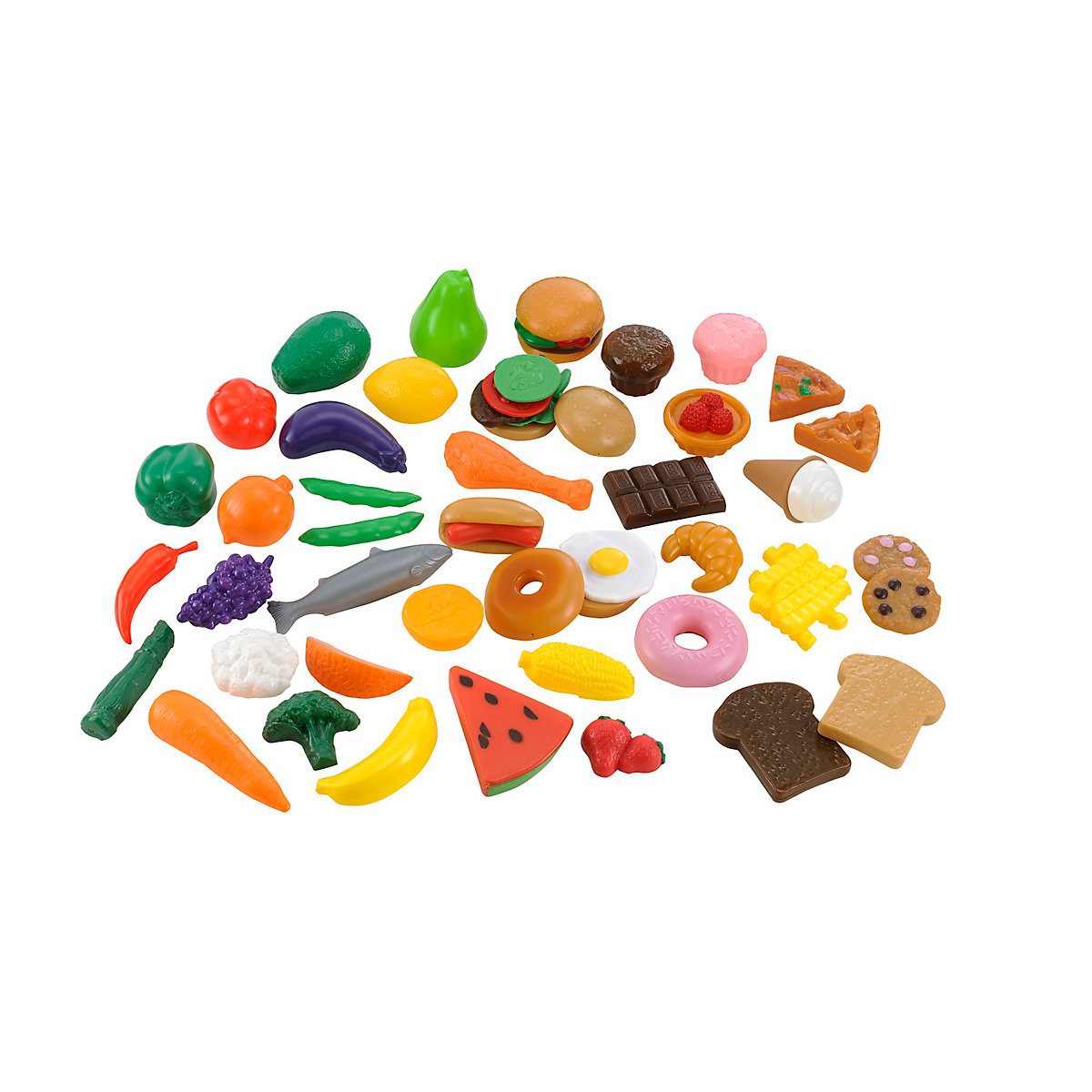 Bumper Play Food Set Toy From 3 years