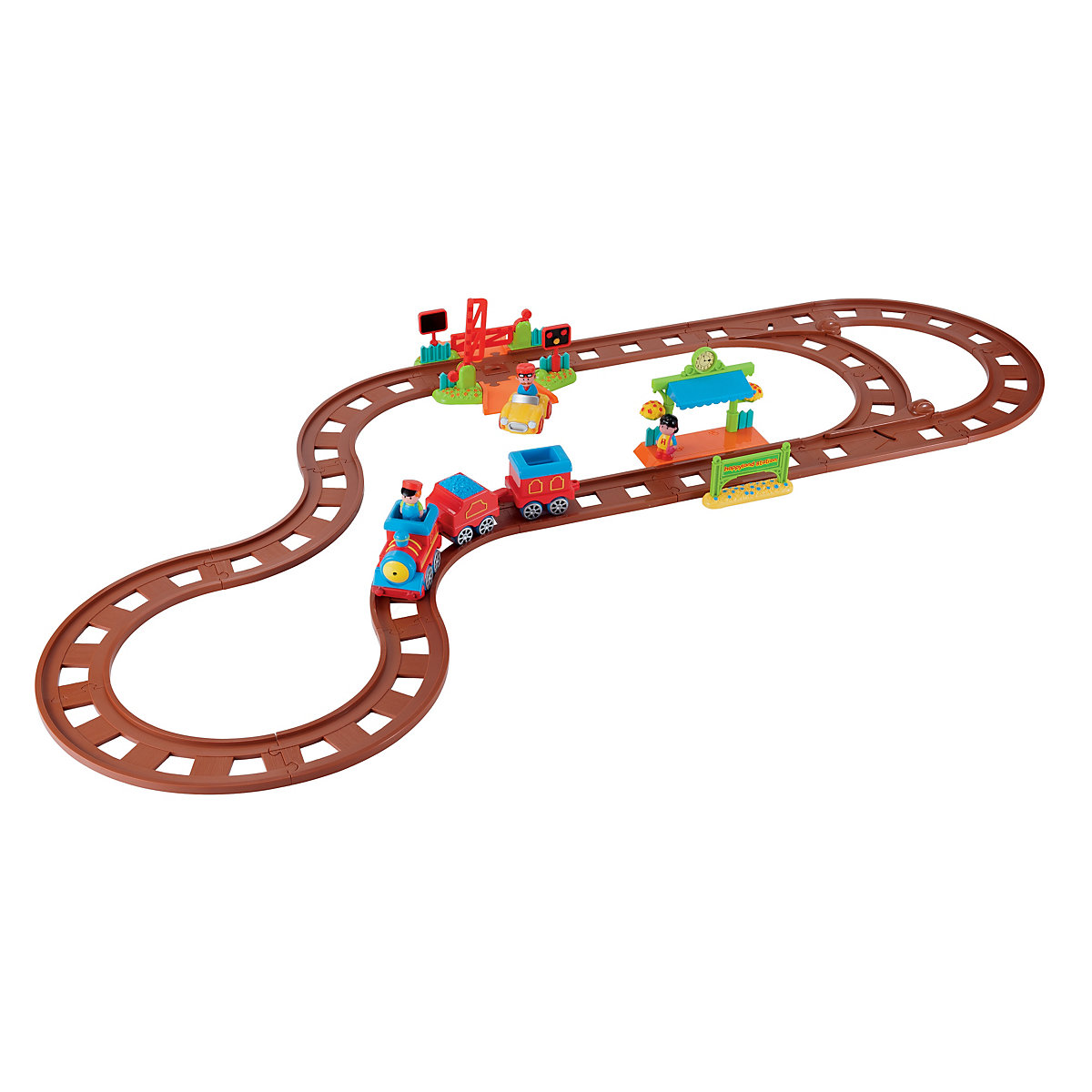 New ELC Happyland Railway Track Extension Set Toy From 2 years - Brands Gifts