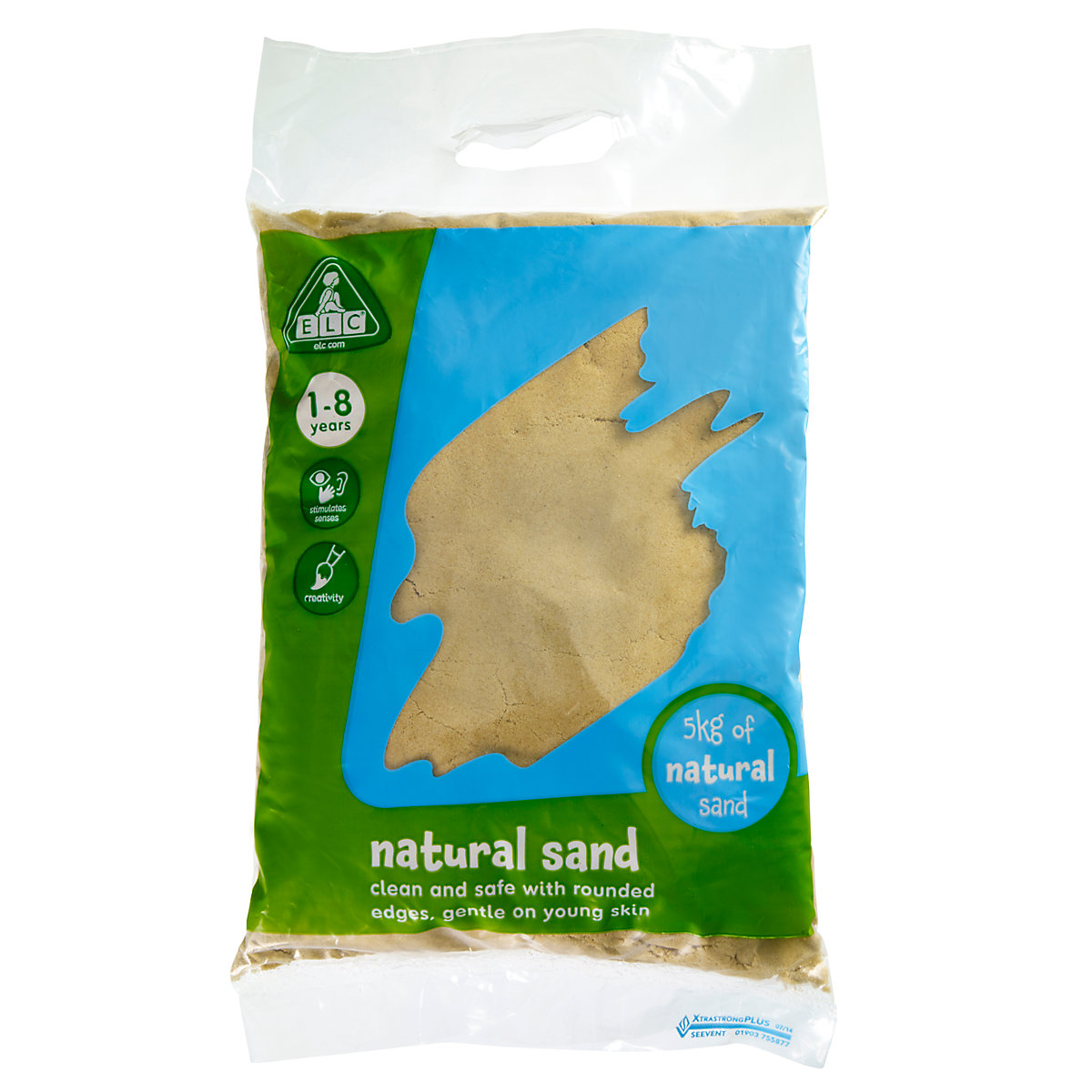 New ELC Natural Play Sand – 5kg Bag Toy From 1 year