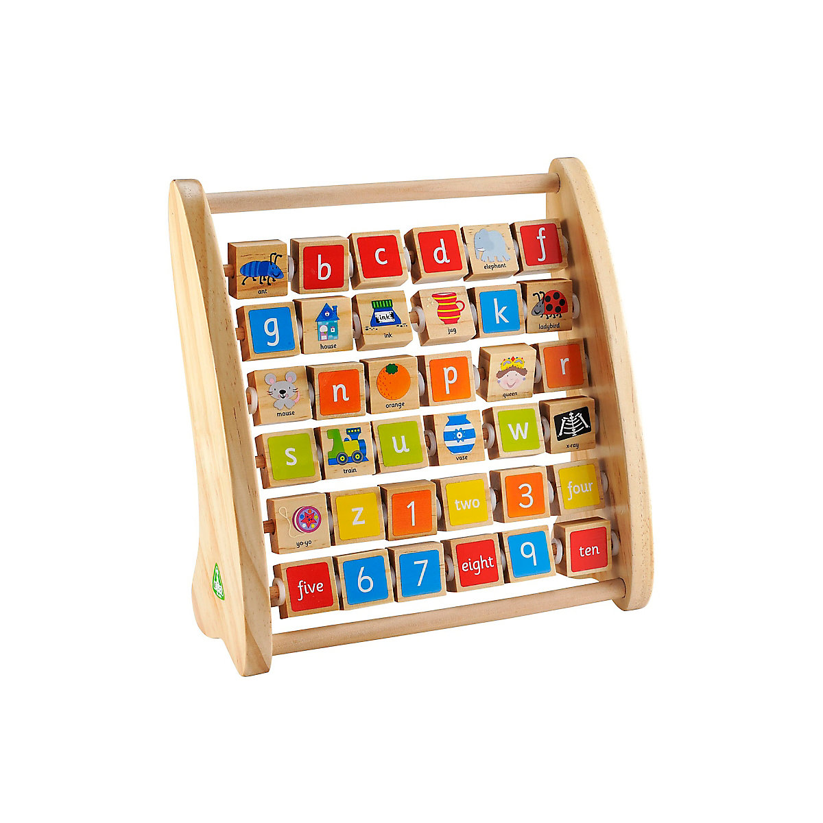 New ELC Boys and Girls Alphabet Teaching Frame Toy From 2 years - Teaching Gifts