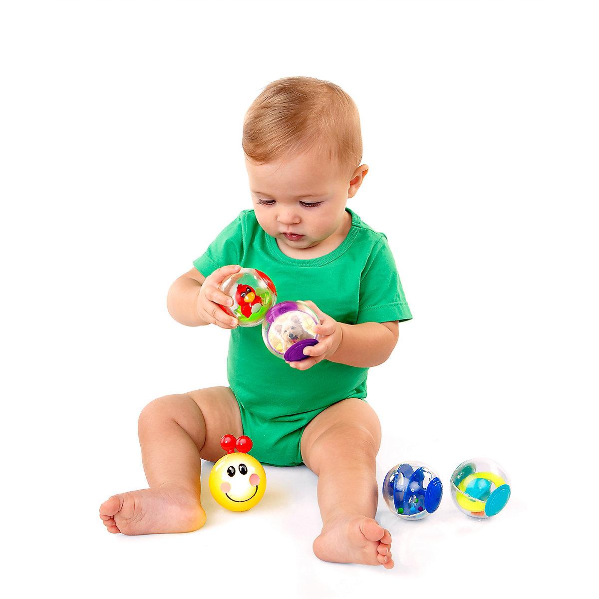 Baby Einstein Roller Pillar Activity Balls Toy. 3 Months+