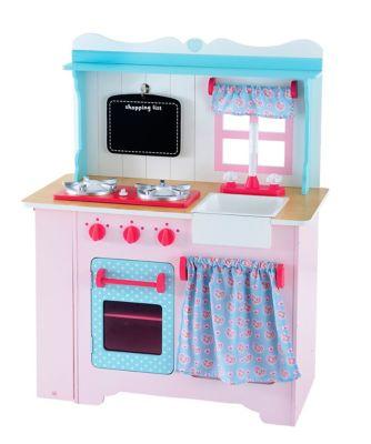 Wooden Farmhouse Kitchen