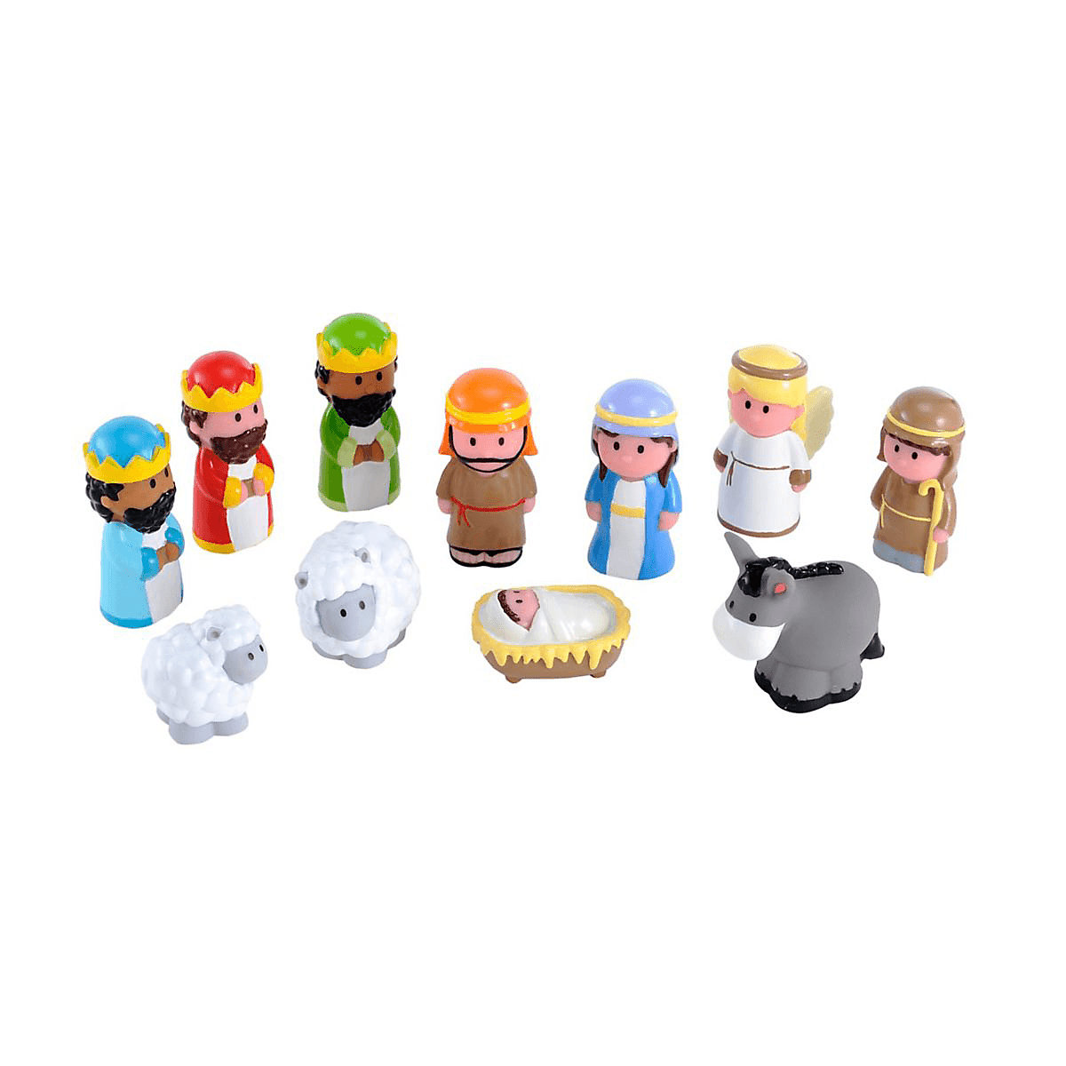 New ELC Boys and Girls Happyland Nativity Set Toy From 18 months - Brands Gifts