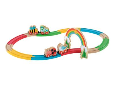 Wooden Magnetic Garden Friends Train
