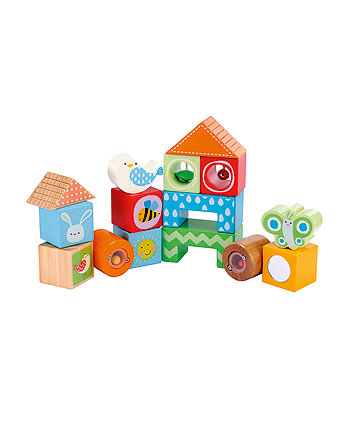 Wooden Activity Bricks