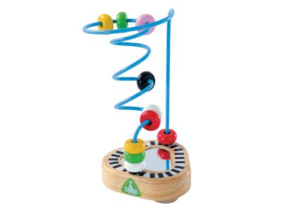 Wooden highchair toy