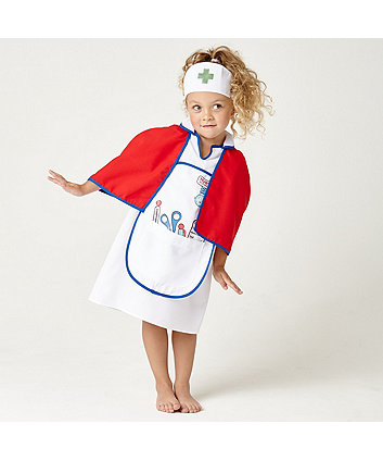 Nurse's Dress Up Outfit with Cape