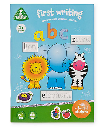 First Writing Sticker Book