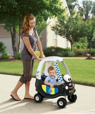 Little Tikes Real Rescue Cozy Coupe Police Car