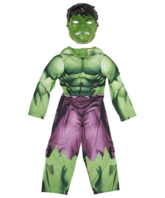Marvel Avengers Hulk Dress Up (Age 3-4 years)
