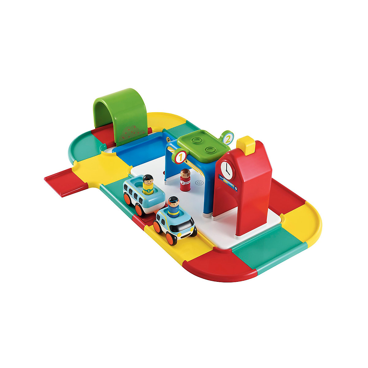 New ELC Boys and Girls Whizz World Fun Sounds Train Station Toy From 12 months - Toy Gifts