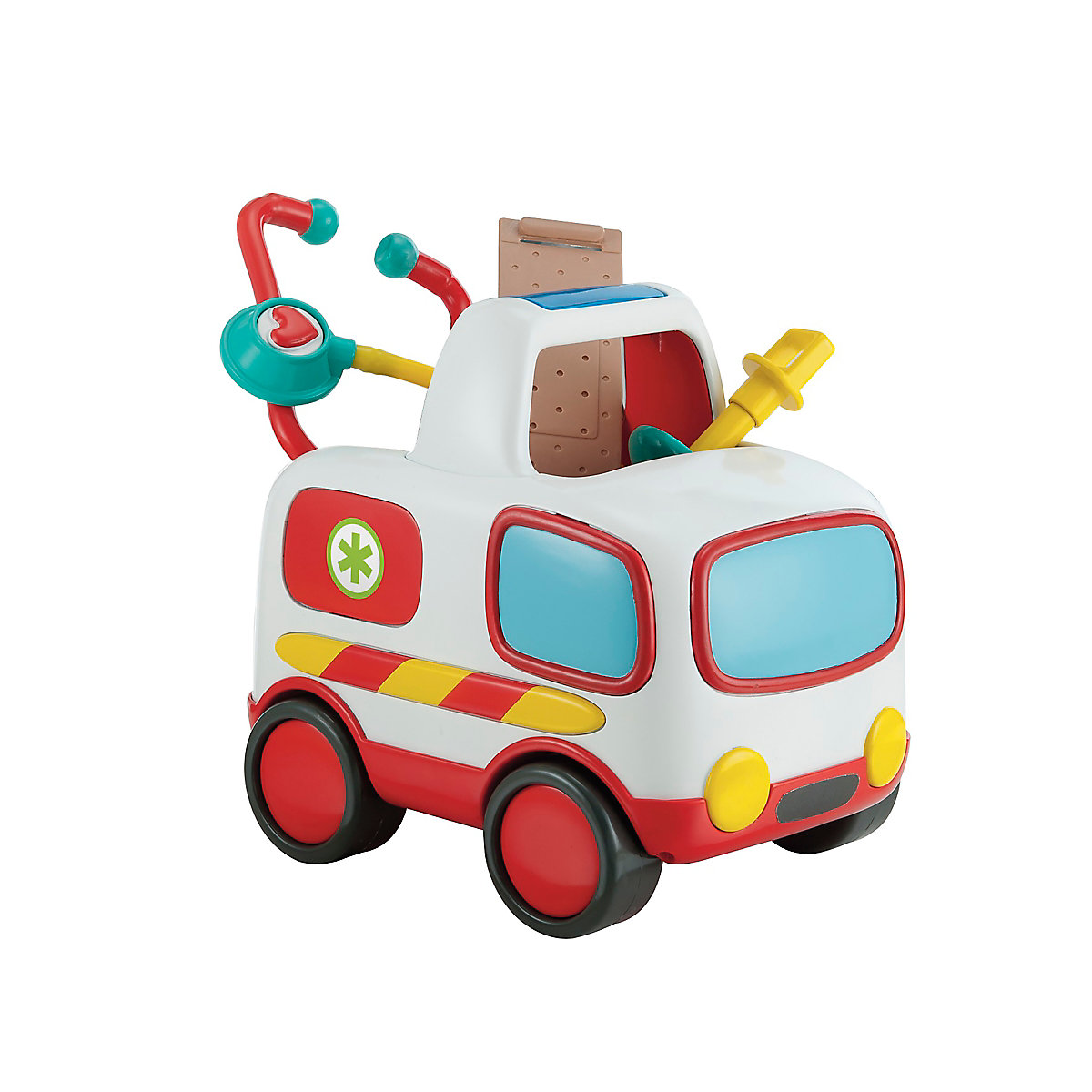 New ELC Boys and Girls Lights and Sounds Ambulance Toy From 2 years - Toy Gifts