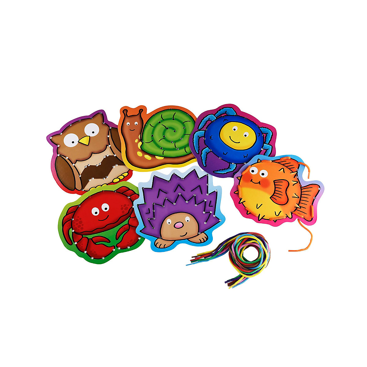 New ELC Boys and Girls My First Lacing Pictures Toy From 3 years - Pictures Gifts