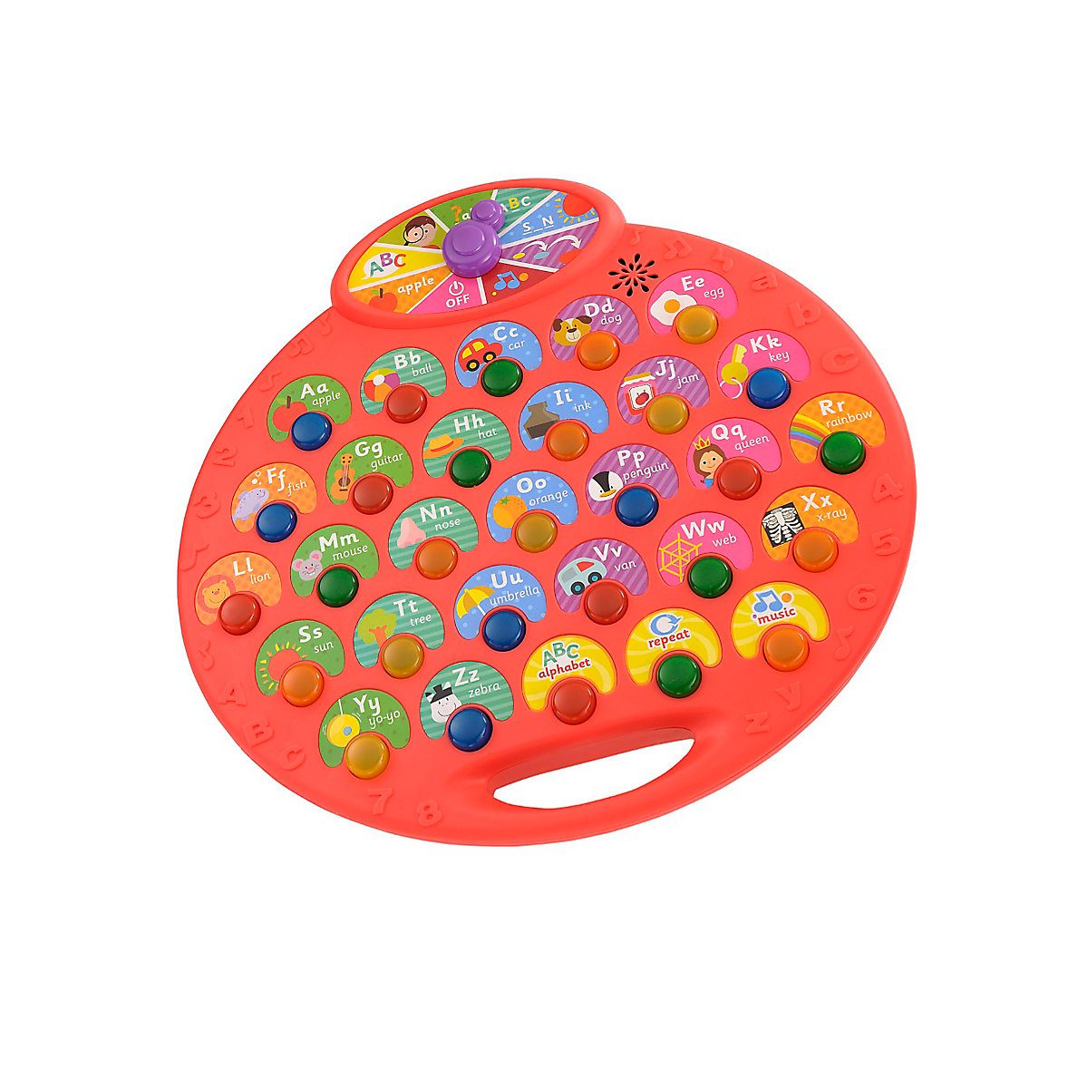 Lights and Sounds Phonics Desk Toy From 3 years