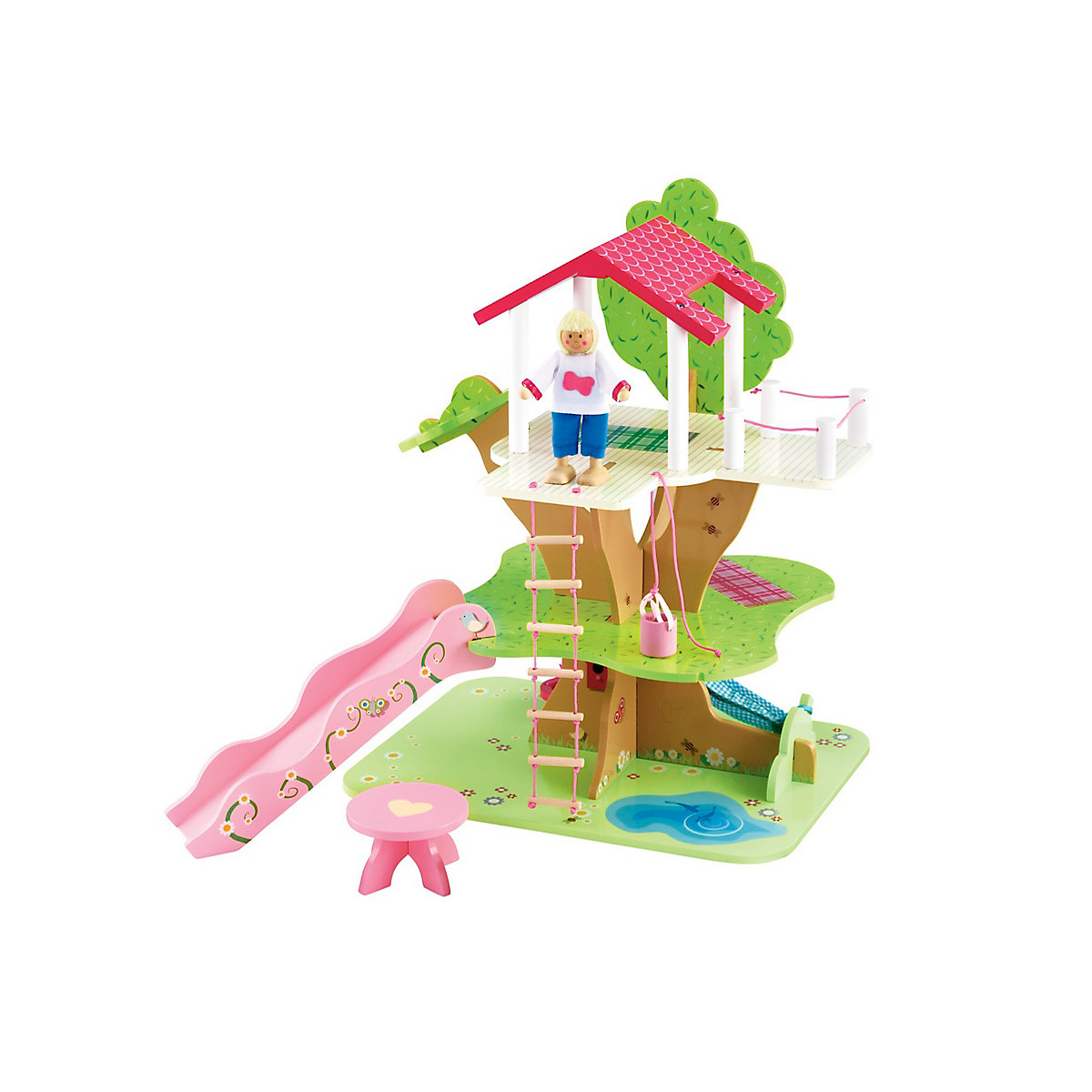 New ELC Girl Rosebud Treehouse Toy From 3 years