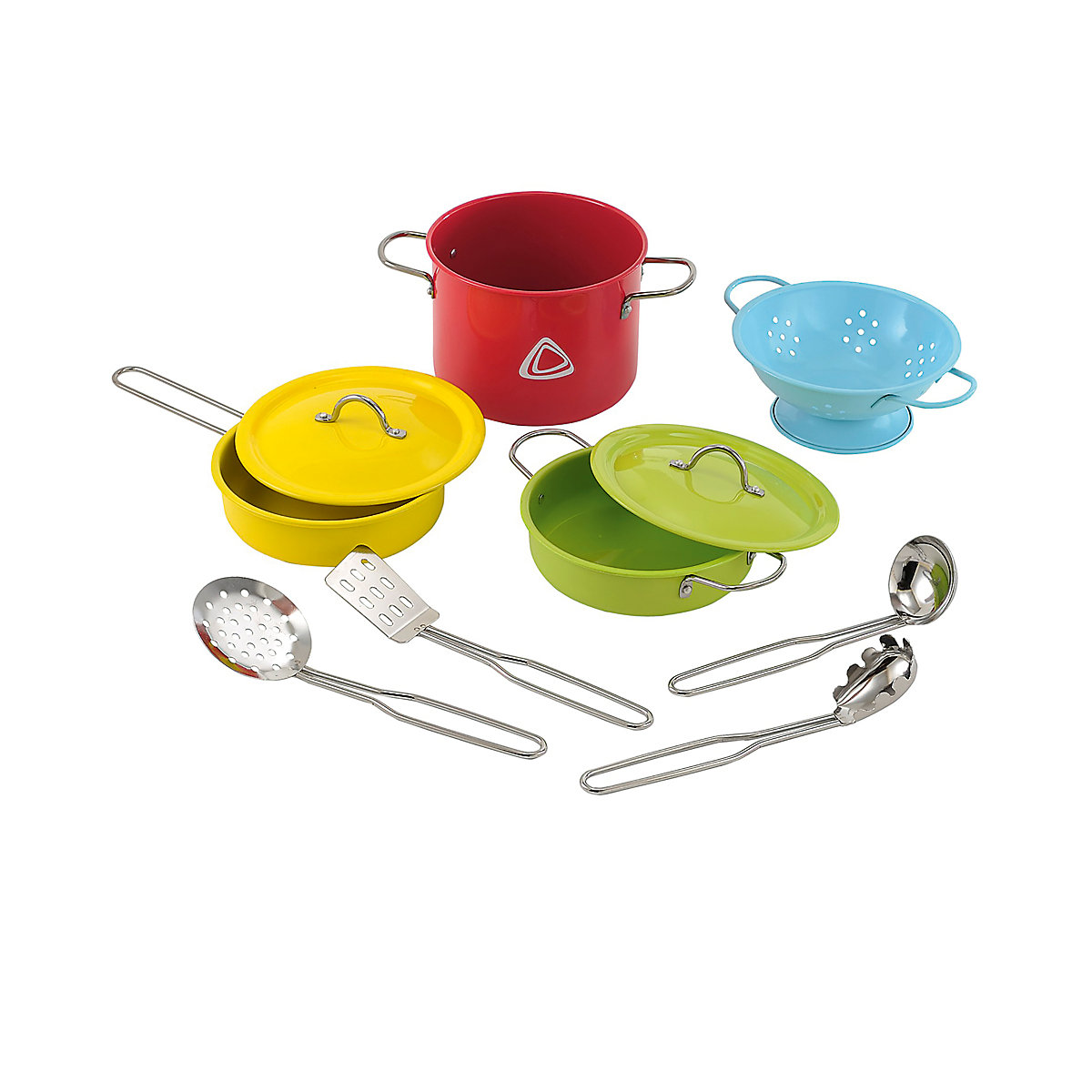 New ELC Boys and Girls Metal Cookware Set Toy From 3 years - Dressing Up Gifts