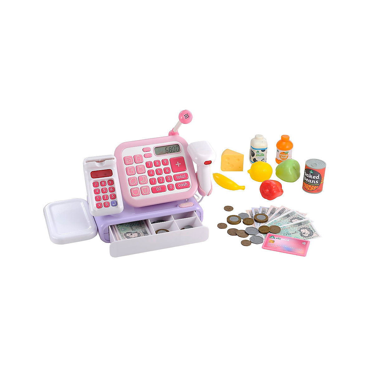 New ELC Girl Cash Register - Pink Toy From 3 years - Dressing Up Gifts