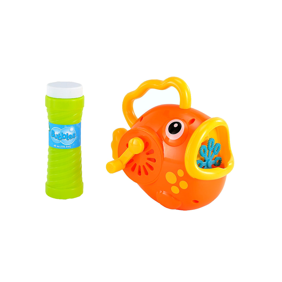 Wind Up Bubble Fish Toy From 3 years