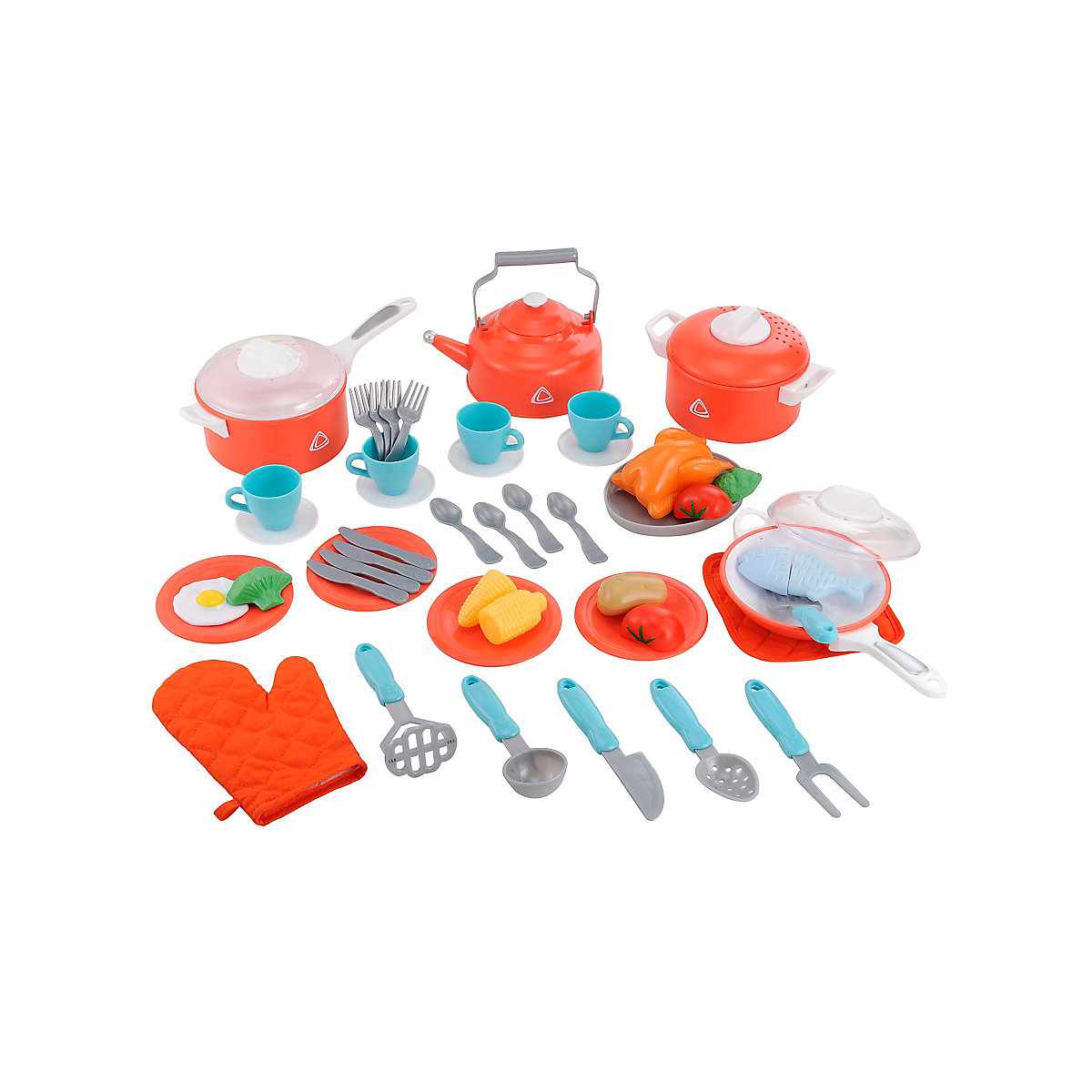 New ELC Boys and Girls Kitchen Set Toy From 3 years - Dressing Up Gifts
