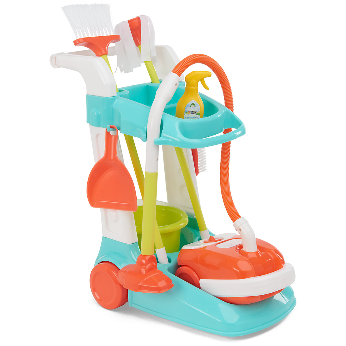 New ELC Boys and Girls Cleaning Trolley Toy From 3 years - Toy Gifts