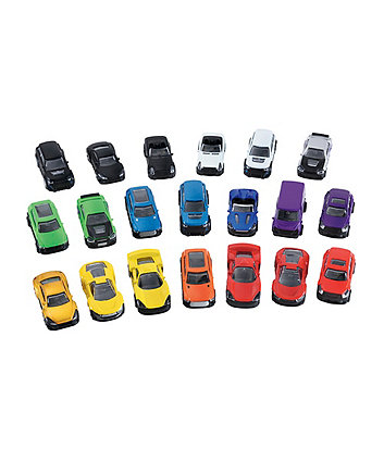 Big City Superwheels - 20 Cars
