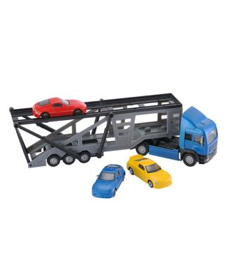 Big City Car Transporter with 3 Cars