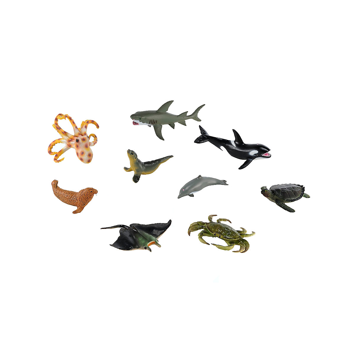 New ELC Boys and Girls Sea Life Set Toy From 3 years