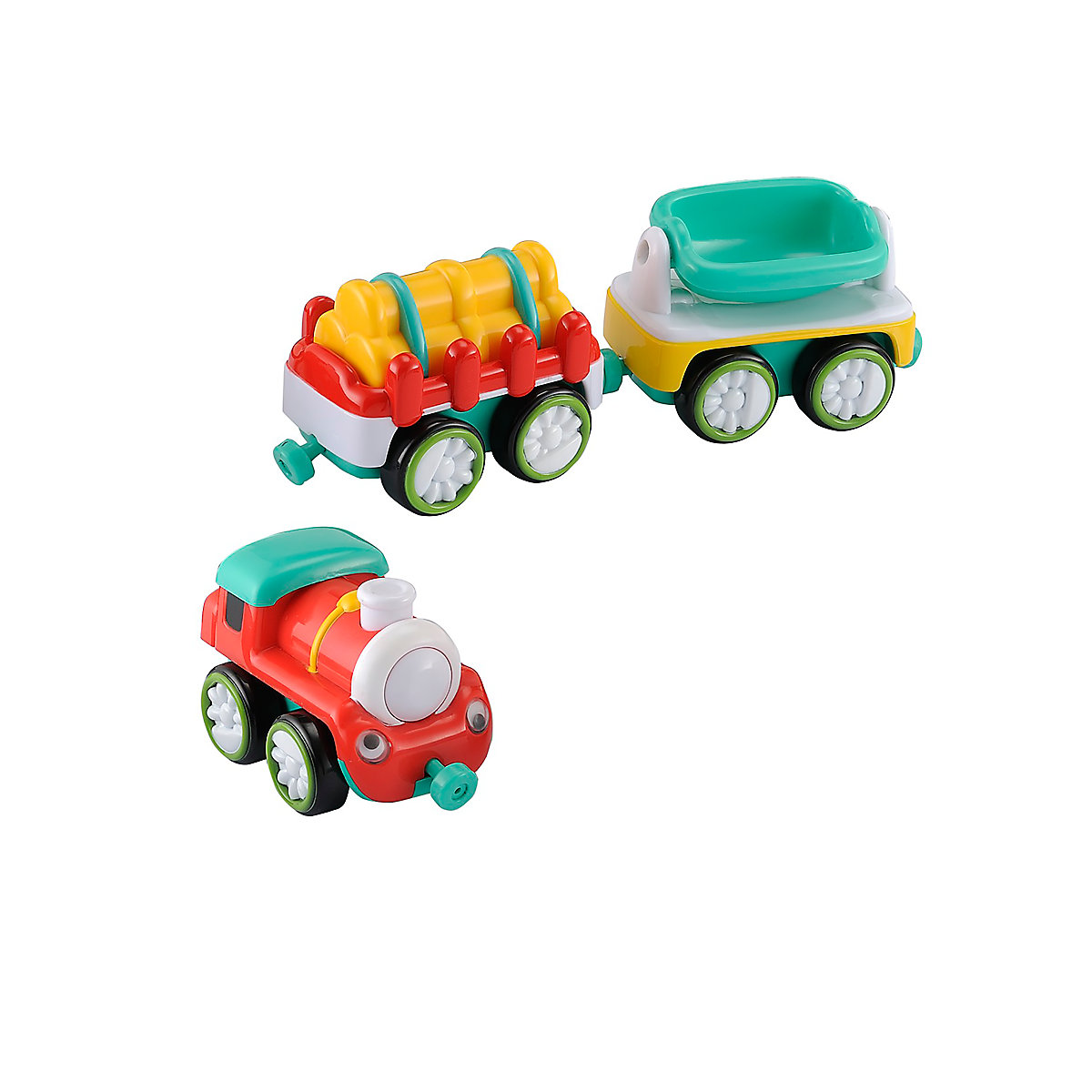 New ELC Boys and Girls Whizz World Train Magnetic Trio Set Toy From 12 months - Toy Gifts