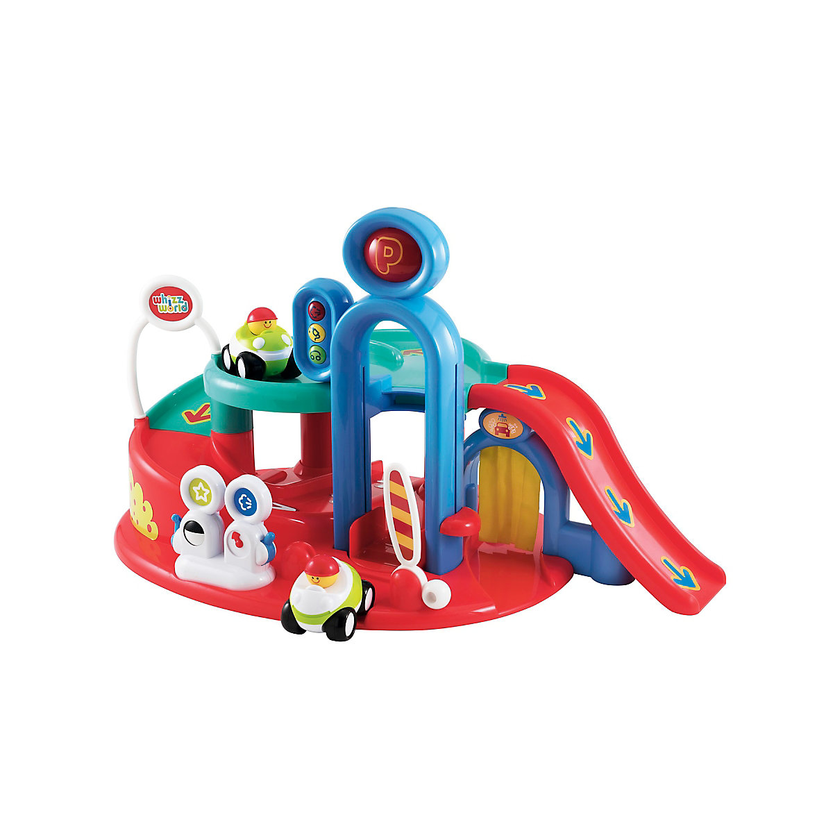 New ELC Boys and Girls Whizz World Lights and Sounds Garage Toy From 12 months - Toddler Gifts