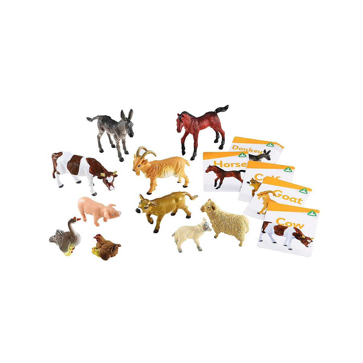 New ELC Boys and Girls Farm Animals Set Toy From 3 years