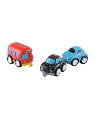 Whizz World City Vehicle Magnetic Trio Set