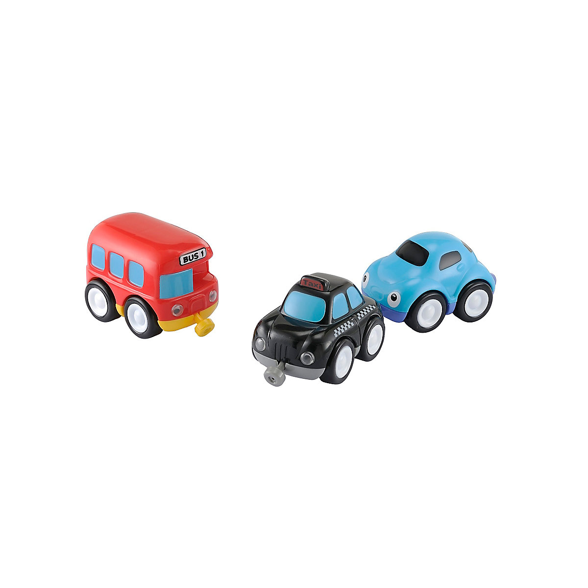 Whizz World City Vehicle Magnetic Trio Set. 12 months+