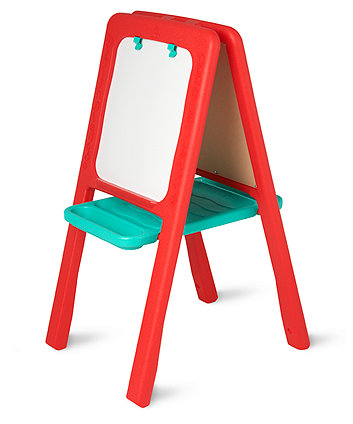 Red Plastic Easel