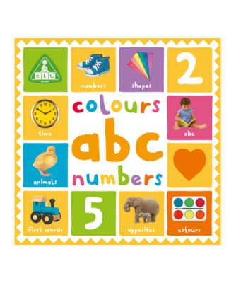 First 100 Colours, ABC and Numbers