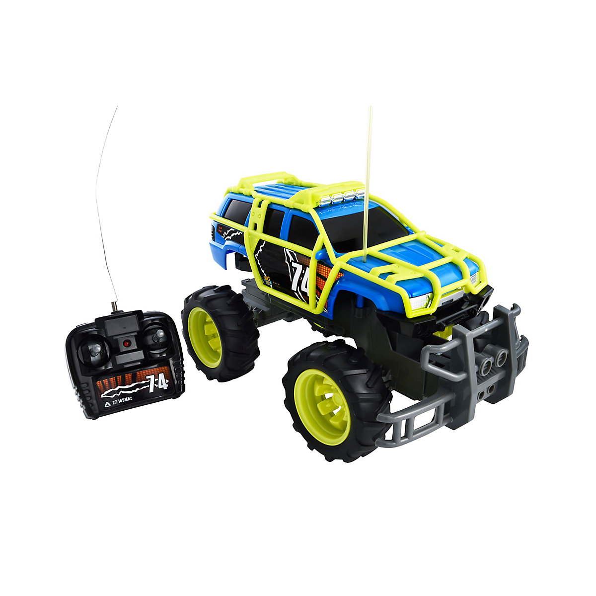 Radio Controlled Off Road Truck Toy From 5 Years