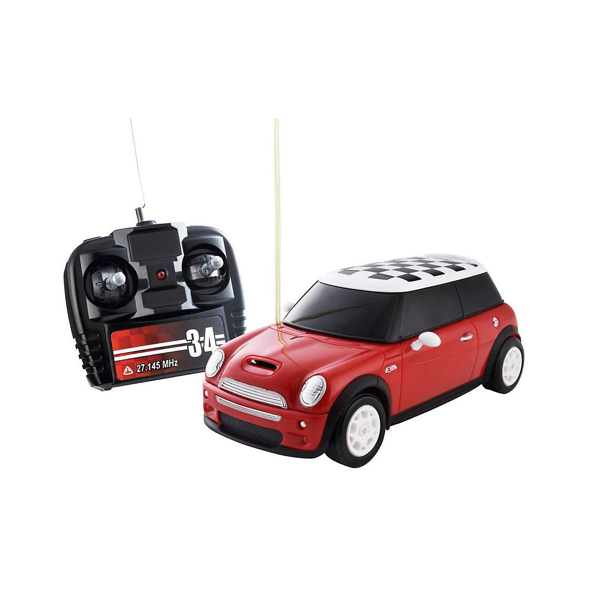 Radio Controlled Mini Cooper Toy From 3 Years